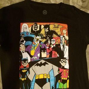 BATMAN: The Animated Series characters shirt